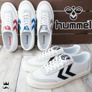 ヒュンメル hummel 靴 メンズ スニーカー ストックホルム ロー Stockholm Low ローカット シューズ レトロ スマート グレー ブラック ブルー レッド 64431|smw