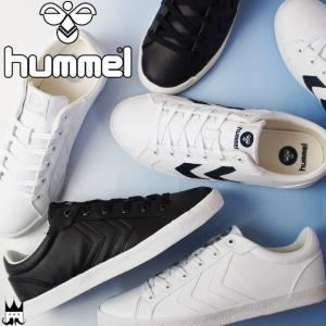 ヒュンメル hummel デュース コートスポーツ メンズ レディース スニーカー 64-531 DEUSE COURT SPORT ローカット 2001 ブラック 9001 ホワイト 9257|smw