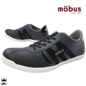 モーブス mobusミュンデン メンズ スニーカー MUNDEN ローカット スエード クッション性 通気性 ブラック 黒 BLACK|smw