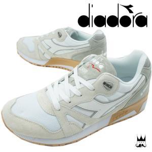 ディアドラ DIADORAN9000 3 メンズ スニーカー ローカット ランニングシューズ スポーツ 運動 ホワイト 白 WHITE 171853|smw
