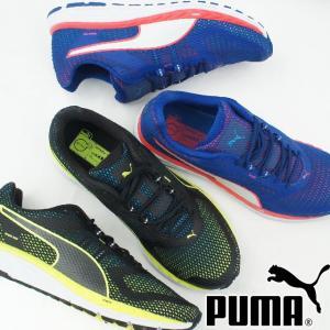 プーマ PUMA スピード 500 イグナイト メンズ スニーカー 189081 ローカット ランニングシューズ 運動靴 05 ブルー 06 ブラック|smw