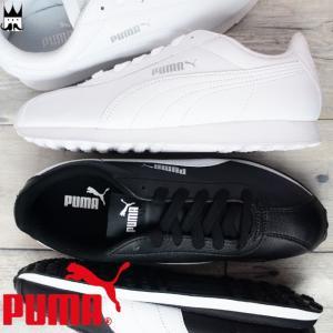 プーマ PUMA チューリン メンズ スニーカー 360116 Turin ローカット 運動靴 01 ブラック-ホワイト 05 ホワイト-ホワイト|smw