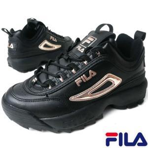 フィラ FILA  F0432 レディース スニーカー ■商品説明 0040(BK/BK/RGD) ...