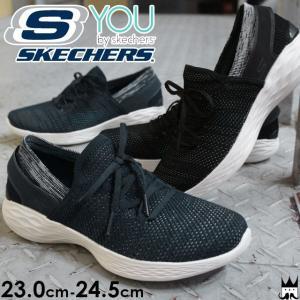 スケッチャーズ SKECHERS レディース スニーカー 14960 YOU by skechers スリッポン ウォーキング GOGA MAX BKW ブラック/ホワイト NVW ネイビー/ホワイト|smw