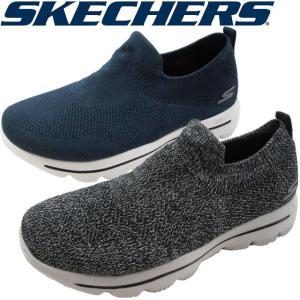 スケッチャーズ SKECHERS スリッポン レディース 15725 BKGY ブラックグレー NVW ネイビーホワイト スニーカー ゴーウォーク|smw