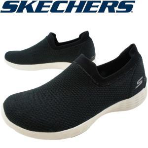 スケッチャーズ SKECHERS スリッポン レディース 15822 BLK ブラック スニーカー|smw