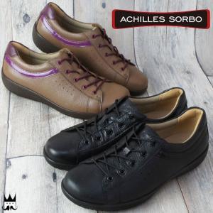 アキレス Achilles ソルボ レディース ウォーキングシューズ ASC スタンダード ミセス 紐靴 疲れにくい ソルボセイン 023|smw