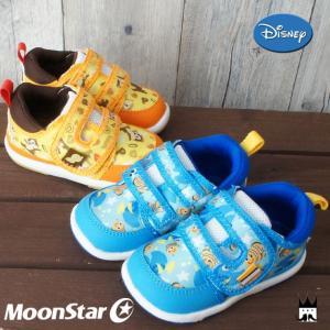 ディズニー Disney 男の子 女の子 子供靴 ベビー キッズ チャイルド スニーカー ベルクロ マジックテープ チップとデール ニモ ファーストシューズ ベビー靴 smw