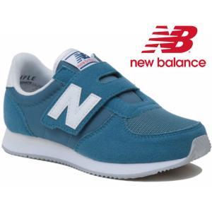 ニューバランス new balance スニーカー 男の子 女の子 子供靴 キッズ チャイルド KV220 ベルクロ ローカット キッズシューズ 運動靴 BFI ライトブルー BEI|smw