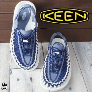 キーン KEEN 靴 ユニーク レディース サンダル UNEEK レジャー スポーツサンダル スポサン オープンエアスニーカー 夏 水辺 海 川 ブルー 1017045 smw