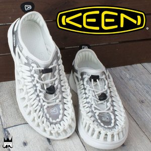 キーン KEEN 靴 ユニーク O2 レディース サンダル UNEEK オーツー レジャー スポーツサンダル スポサン 夏 水辺 海 川 ホワイト 白 1017227 smw