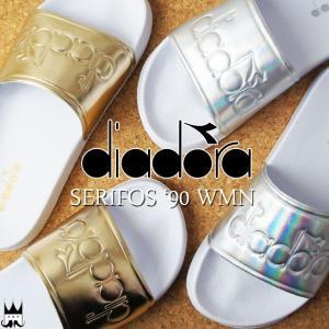 ディアドラ DIADORA セリフォス '90 ウィメン メンズ レディース シャワーサンダル 173879 SERIFOS WMN シャワサン スライド コンフォートサンダル 6003 0002|smw