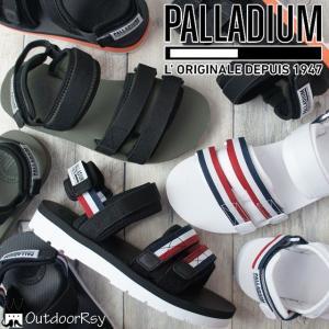 パラディウム PALLADIUM メンズ レディース スポーツサンダル 75652 OUTDOORSY スポサン サンダル 113 ホワイト 959 ブラック/トリコロール 011 307|smw