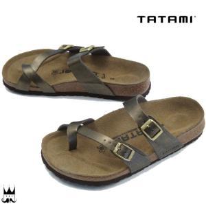 タタミ TATAMI 靴 ダカール レディース サンダル 827071 Dakar ビルケンシュトック コンフォートサンダル メタリック ノーマル幅|smw
