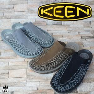 キーン KEEN 靴 ユニーク スライド メンズ サンダル 1014625・1014626・1014627 UNEEK SLIDE レジャー スポーツサンダル スリップオン オフィス smw