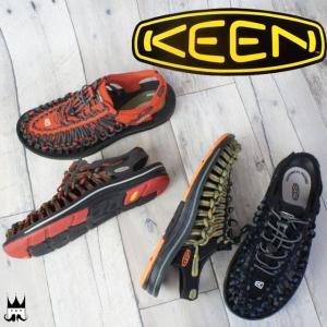 キーン KEEN 靴 ユニーク ストライプス メンズ サンダル 1014617・1014618・1014620・1014619 レジャー スポーツサンダル   保護 smw