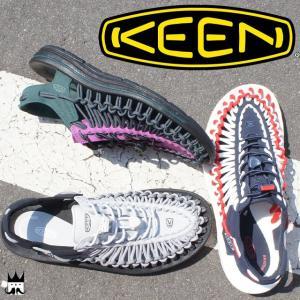 キーン KEEN 靴 ユニーク メンズ サンダル UNEEK オープンエアスニーカー レジャー 夏 水辺 海 川 スポーツサンダル スポサン 1017207 1017030 1017202 smw