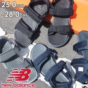 ニューバランス new balance メンズ サンダル SD212 スポーツサンダル スポサン BK2 ブラック NV2 ネイビー GY2 グレー smw