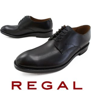 リーガル REGAL メンズ ビジネスシューズ 04RR ブラック プレーントゥ フォーマル 日本製 メイドインジャパン|smw