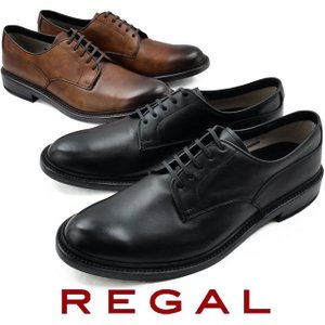 リーガル REGAL ビジネスシューズ メンズ 30KR プレーントゥ 日本製 メイドインジャパン ゴアテックス 防水 ブラック ブラウン 革靴 紳士靴|smw