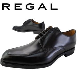 リーガル REGAL ビジネスシューズ メンズ  46RR 日本製 メイドインジャパン フォーマル スワールトゥ ブラック|smw