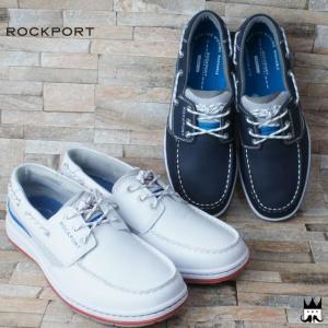 ロックポート ROCKPORT 靴 メンズ デッキシューズ V79379・V79376 3-EYE BOAT 3アイ ボート カジュアルシューズ 3アイレット
