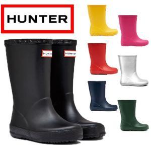 ハンター HUNTER レインブーツ 男の子 女の子 子供靴 キッズ ジュニア KFT5003RMA ファーストクラシック レインシューズ ショートブーツ 防水 smw