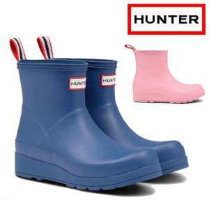 ハンター HUNTER レインブーツ レディース WFS2020RMA オリジナル プレイ ブーツ ショート ショートブーツ ラバーブーツ 防水 長靴|smw