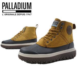 パラディウム PALLADIUM クラッション スクランブル DB L メンズ スノーブーツ 05505-722 CRUSHION SCRMBL ショートブーツ 防水 スニーカーブーツ ゴールド|smw