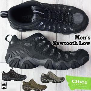 オボズ Oboz メンズ トレッキングシューズ 20601 ソウトゥース ロー ローカット ハイキング トレイル ブラック/グレー アンバー ピューター|smw