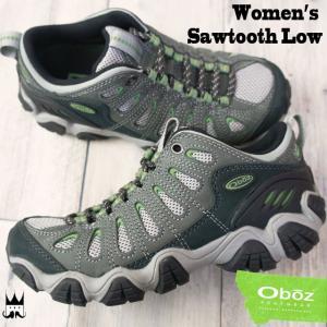 オボズ Oboz レディース トレッキングシューズ 20602 ソウトゥース ロー ローカット 登山 山登り クローバーグリーン|smw