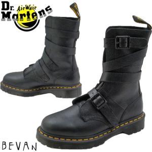 ドクターマーチン Dr.Martens ビーヴァン バックルストラップブーツ メンズ レディース 23693001 ベルト シボレザー ブラック|smw