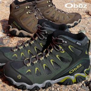オボズ Oboz トレッキングシューズ メンズ 23701 SAWTOOTH 2 MID WATERPROOF ハイカット 防水 登山 山登り|smw