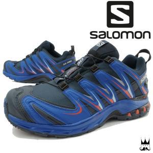 サロモン SALOMON メンズ トレッキングシューズ XA プロ 3D ゴアテックス スニーカー トレイル トレイルランニング GORE-TEX 防水 透湿 山登り 登山 390720|smw