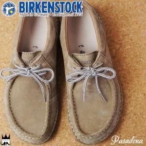 ビルケンシュトック BIRKENSTOCK パサデナ Pasadena メンズ コンフォートシューズ ノーマル幅 レースアップ 紐靴 トープ 495391|smw