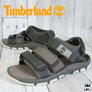 ティンバーランド Timberland 靴 メンズ サンダル (TB0)A13SE ロズリンデール バックストラップ 夏 スポサン ベルクロ オリーブ OLIVE|smw