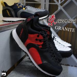 グラミチ GRAMICCI メンズ レディース トレッキングシューズ GR-7101 グラニット GRANITE スニーカー ローカット ホワイト ネイビー ブラック グレー|smw
