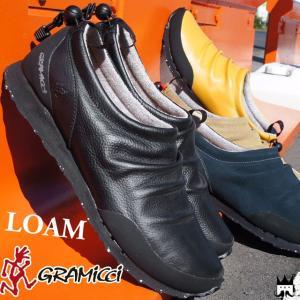 グラミチ GRAMICCI レディース メンズ モックシューズ GR-7103 ローム LOAM スリッポン ブラック ベージュ ネイビー|smw