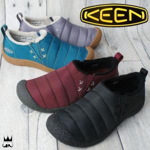 キーン KEEN 靴 ハウザー 2 レディース スリッポン HOWSER II クロッグ サイドゴア スリッパ リラックスシューズ マイクロフリース smw