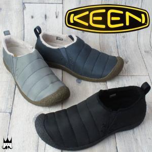 キーン KEEN 靴 ハウザー 2 メンズ スリッポン HOWSER クロッグ サイドゴア スリッパ リラックスシューズ マイクロフリース smw