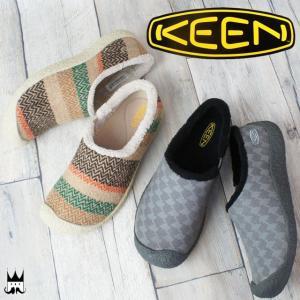 キーン KEEN 靴 レディース スリッポン ハウザー 2 スライド スライドウール クロッグ サイドゴア スリッパ リラックスシューズ マイクロフリース smw