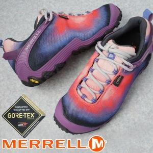 メレル MERRELL カメレオン 7 ストーム XX ゴアテックス レディース ハイキングシューズ J16900 パープル トレッキングシューズ 防水 透湿|smw