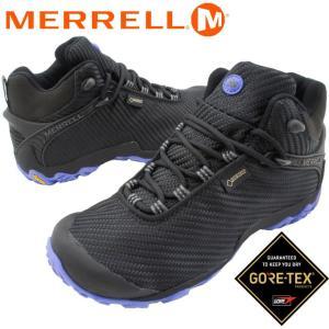 メレル MERRELL カメレオン7 ストーム ミッド ゴアテックス レディース ハイキングシューズ J31120 ブラック トレッキングシューズ 防水 透湿|smw