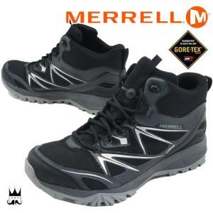 メレル MERRELL カプラ ボルト ミッド ゴアテックス メンズ トレッキングシューズ CAPRA BOLT MID GORE-TEX ミッドカット ハイカット スニーカー ハイキング 山 smw