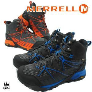 メレル MERRELL カプラ ヴェンチャーミッド GTX サラウンド メンズ CAPRA VENTURE MD SURROUND ゴアテックス GORE-TEX ミッドカット 防水 透湿 ハイキング|smw