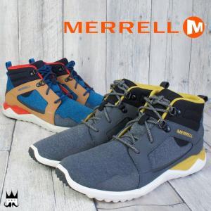 メレル MERRELL 1シックス8 ミッド メンズ 1SIX 8MID ミッドカット 軽量 アフタースポーツ リラックス フィット感|smw