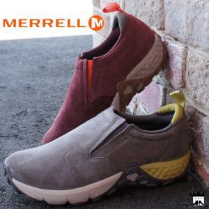 メレル MERRELL ジャングルモック AC+ レディース スリッポン J45752・J45934 JUNGLE MOC グレー 赤 smw