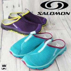 サロモン SALOMON レディース クロッグサンダル 381613・381612 RX スライド 3.0 W リラックス トレーニング スリッポン|smw