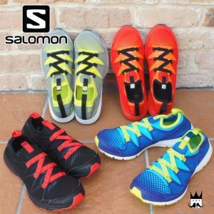 サロモン SALOMON クロスアンフィビアン メンズ ウォーターシューズ 379673・379677・379674・379675 水場 水辺 アクティブ アクアシューズ 伸縮 速乾|smw