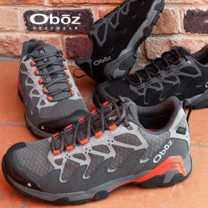 オボズ Oboz トレッキングシューズ メンズ 41501 CIRQUE LOW B-DRY スニーカー 防水 登山 山登り|smw